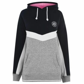 Jack Wills Dalton Boyfriend Hoodie Ladies - Grey Marl
