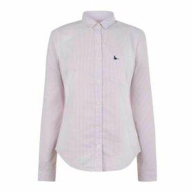 Jack Wills Homefore Stripe Classic Shirt - Pink