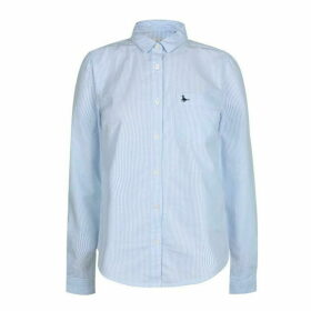 Jack Wills Homefore Stripe Classic Shirt - Sky Blue