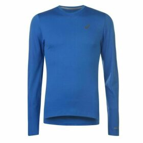 Asics Seamless Long Sleeve T Shirt - Illusion Blue