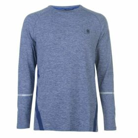 Karrimor XLite Long Sleeve T Shirt Mens - Nvy Marl