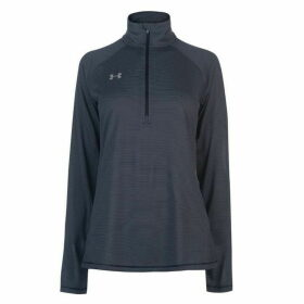Under Armour Tech Zip Top Ladies - Navy