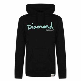 Diamond Supply Co. Script OTH Hoodie - Black