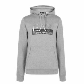 EA7 Visible Logo Over The Head Hoody - Grey 3905