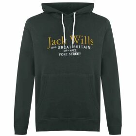 Jack Wills Batsford Hoodie - Dark Green