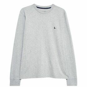 Jack Wills Bainesworth Long Sleeve T-Shirt - Grey Marl