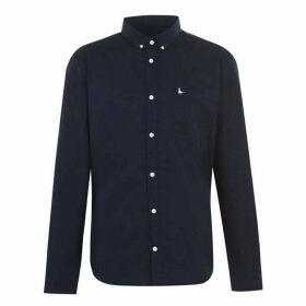 Jack Wills Wadsworth Classic Oxford Shirt - Navy