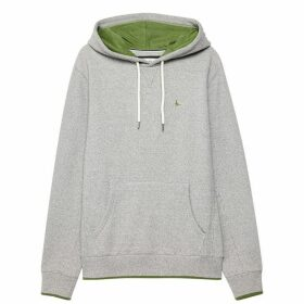 Jack Wills Charlesbye Graphic Hoodie - Grey