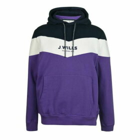 Jack Wills Wirksworth Cut And Sew Hoodie - Purple