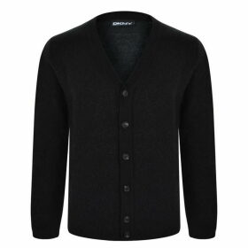 DKNY Wool Cardigan - Black
