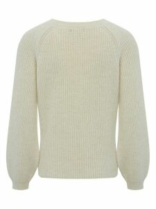 Women's Ladies blouson sleeve jumper