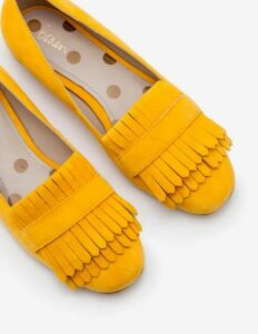 Melody Loafers Yellow Women Boden, Yellow