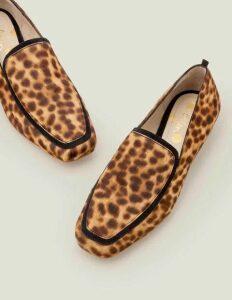Rae Loafers Brown Women Boden, Leopard