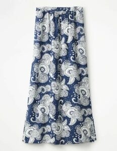 Juliette Maxi Skirt Blue Women Boden, Blue