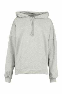 Womens Premium Extreme Oversized Hoodie - grey - L, Grey