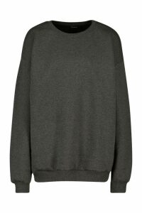 Womens The Basic Mix & Match Oversized Hoodie - Grey - M, Grey
