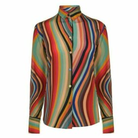 Paul Smith Paul Smith Swirl Casual Shirt