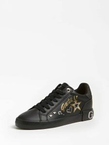 Guess Pryde Star And Logo Sneaker