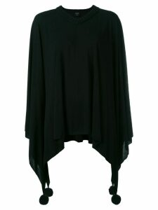 Jean Paul Gaultier Pre-Owned poncho sweater - Black