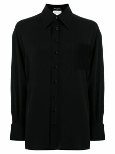 Chanel Pre-Owned straight fit shirt - Black