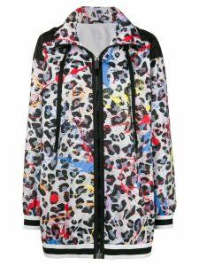 No Ka' Oi leopard print hoodie - Multicolour