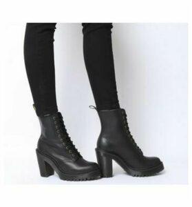 Dr. Martens Kendra Lace Up Boot BLACK SENDEL