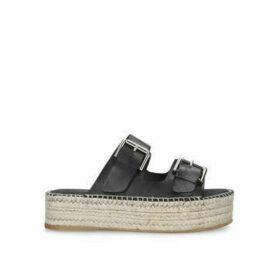 Womens Carvela Klevererkleverer Summer Carvela Black Sandals, 6.5 UK