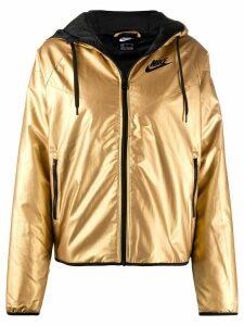 Nike Windrunner hooded jacket - GOLD