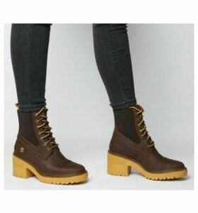 Timberland Silver Blossom Mid Bootie MED BROWN