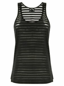 The Upside mesh Issy tank top - Black
