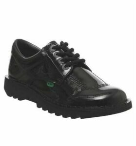Kickers Kick Lo BLACK PATENT