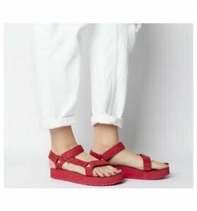 Teva Midform Universal Leather RED