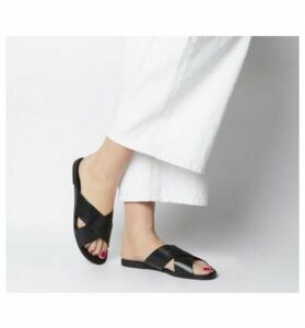 Vagabond Tia Cross Sandal BLACK