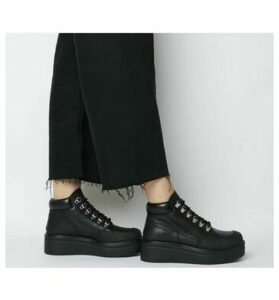 Vagabond Tara Hiker Lace Up BLACK