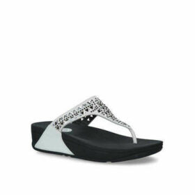 Womens Carmel Toe-Post Summer Fitflop White, 7 UK