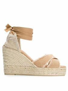 Castañer Bluma wedge sandals - Brown