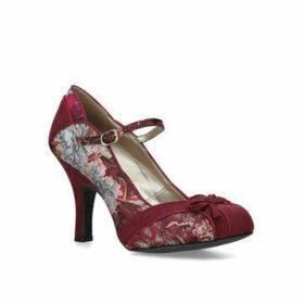 Womens Cleo High Heel Occasion Ruby Shoo Wine, 4 UK