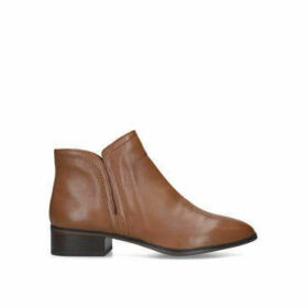 Womens Gweria Ankle Boots Aldo Tan Flat Ankle Boot, 3.5 UK