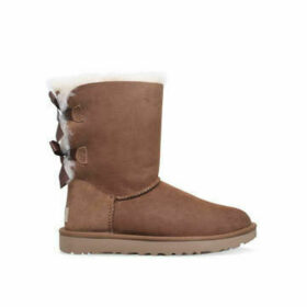 Womens Bailey Bow Boots Ugg Brown, 5 UK