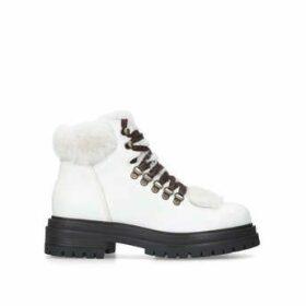 Womens Regent 40 Mm Heel Ankle Boots Kurt Geiger London White, 2.5 UK