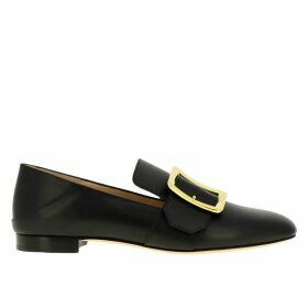 Bally Loafers Janelle Bally Loafer In Leather With Buckle