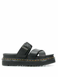Dr. Martens Myles slip-on sandals - Black