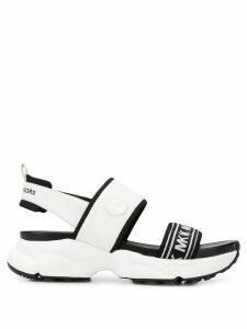 Michael Michael Kors open toe strappy sandals - White