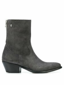 RtA western ankle boots - Grey