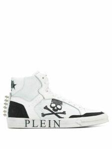 Philipp Plein Plein Star high-top sneakers - White