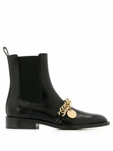 Givenchy chain detail Chelsea boots - Black