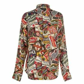 DSquared2 All Over Print Shirt