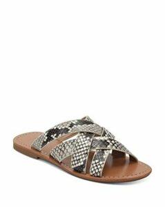 Marc Fisher Ltd. Women's Roony Snake-Print Sandals