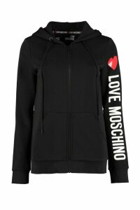 Love Moschino Stretch Cotton Hoodie