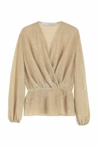 IRO Maryle Lurex Knit Blouse